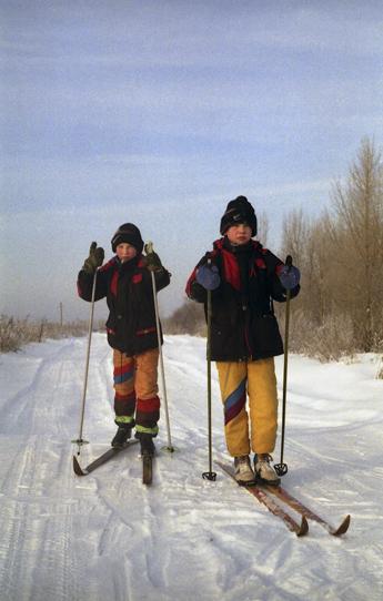 Лыжный маршрут