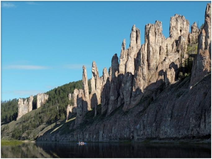 Каменные столбы Якутии