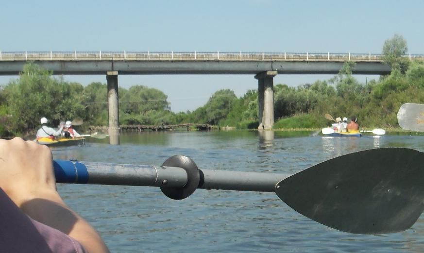 Водный поход по реке Пьяна