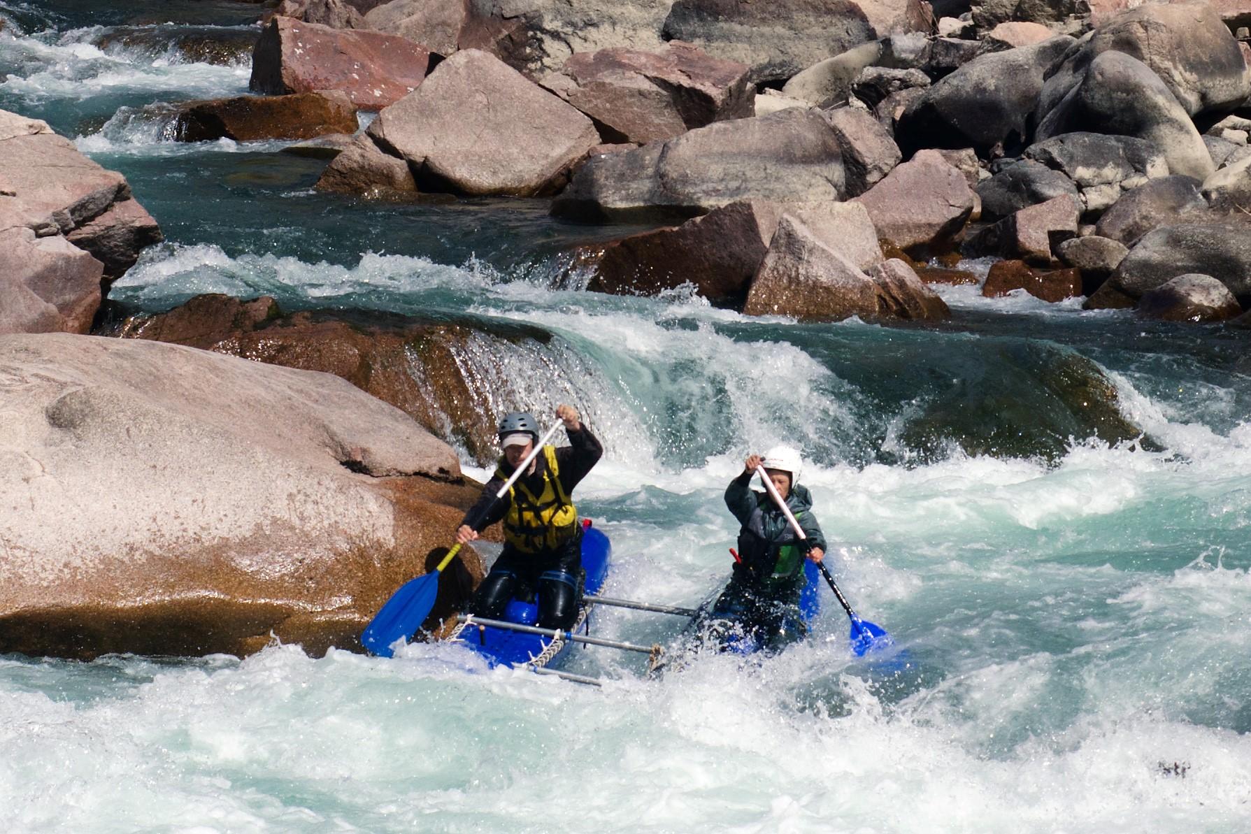 Отчет о водном походе по реке Кекемерен