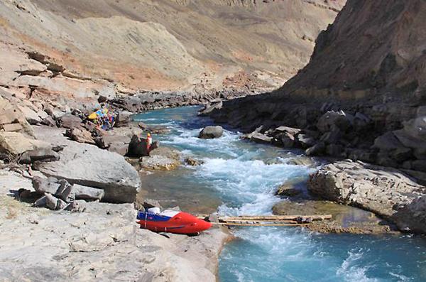 Водный поход 5 к.с. по реке Матча