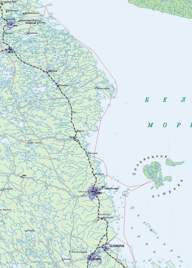Обзорная карта маршрута