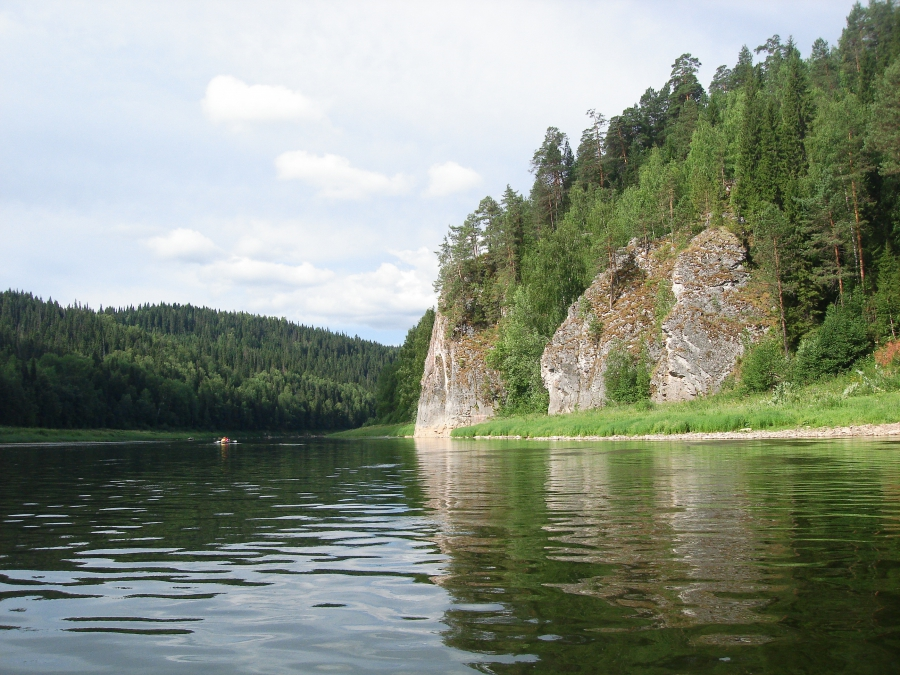 Водный поход 1 к.с. по реке Чусовая