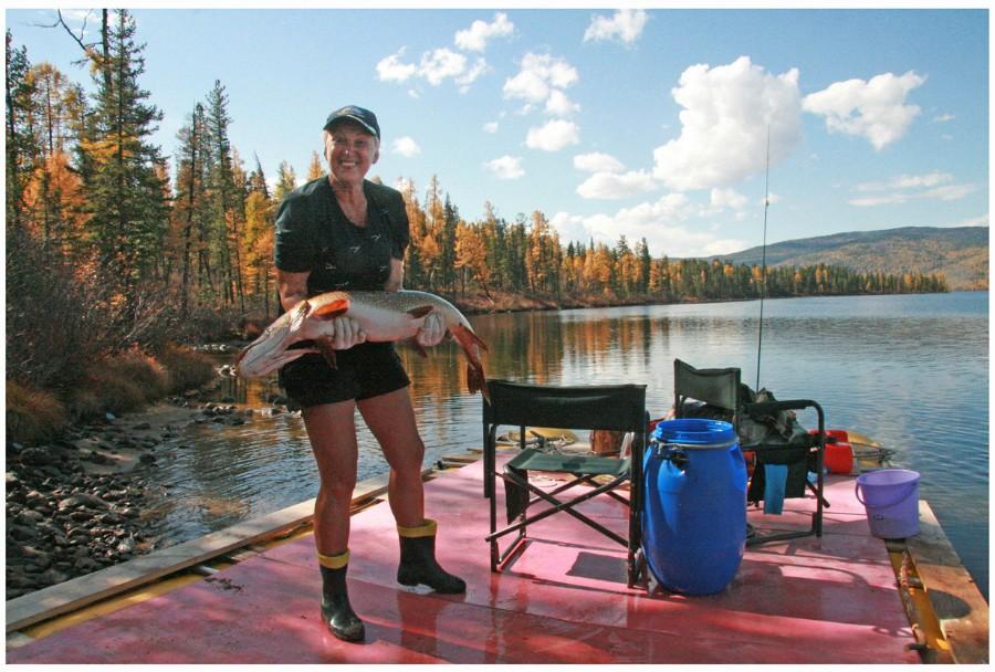 рыбалка на енисее в туве