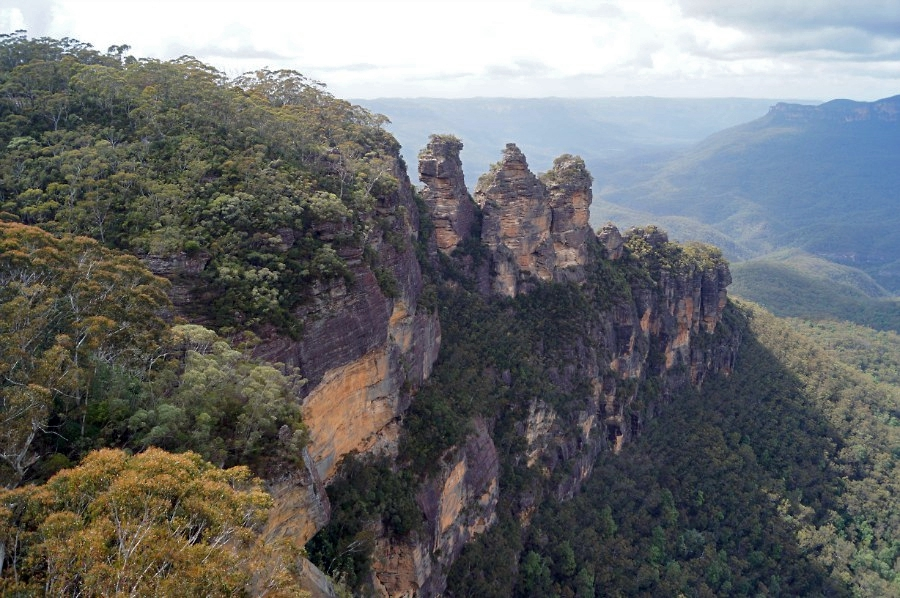 Blue Mountains. Three Sisters Rocks