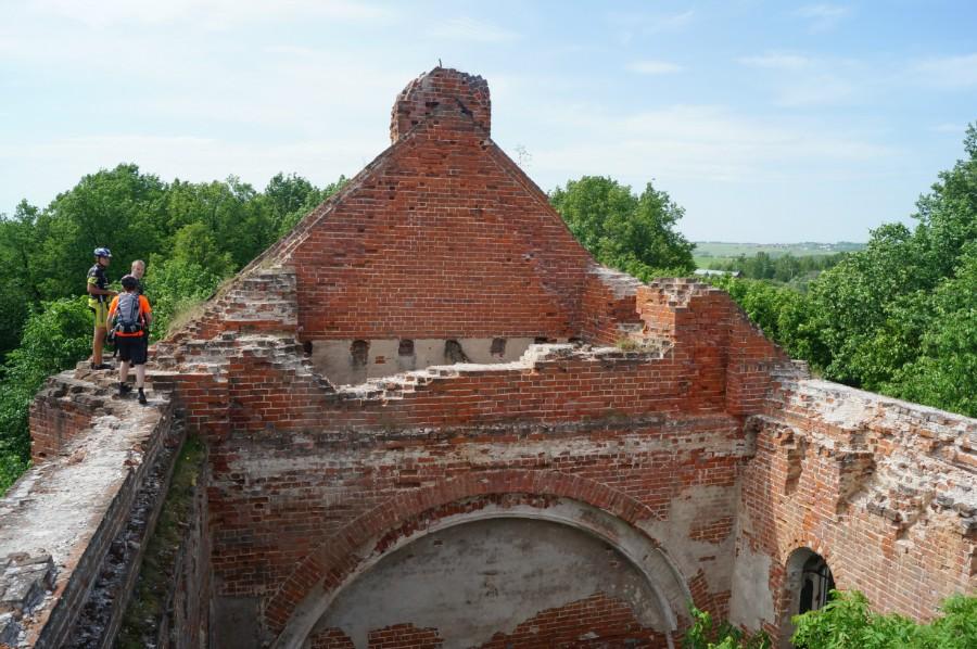 Преображенская церковь - все что осталось от наследства Орловых-Давыдовых
