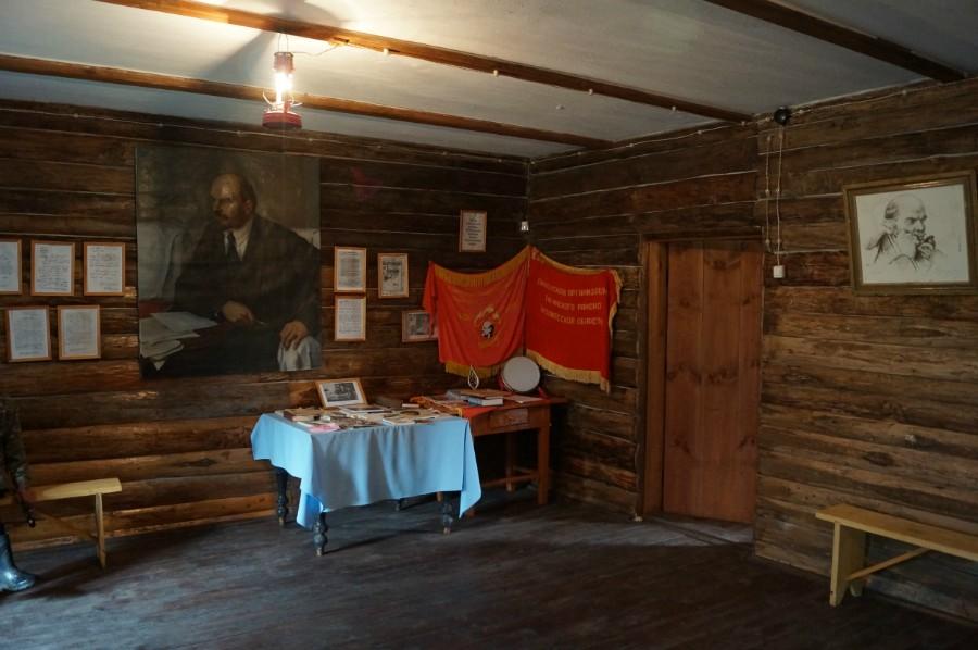Внутри музея Н.В. Ульянова, деда Ленина, в селе Андросово. Фото 2