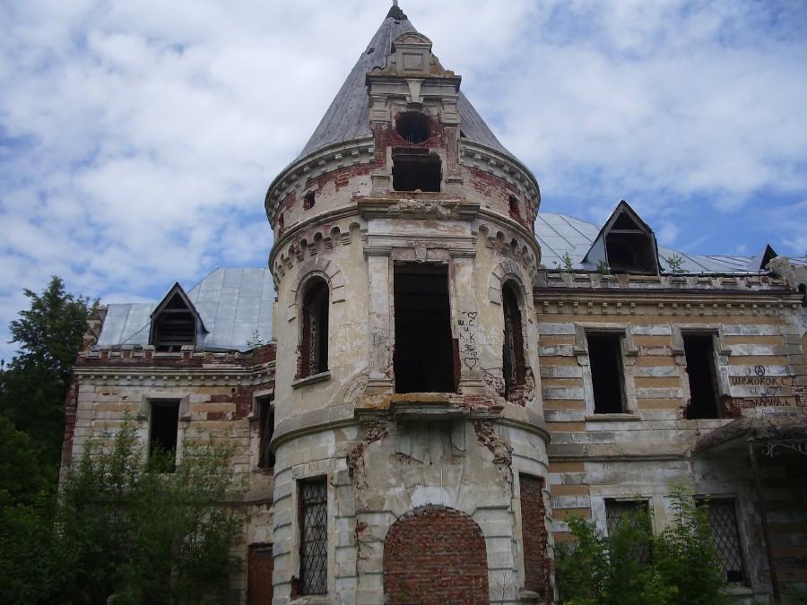 Усадьба Храповицкого в поселке Муромцево