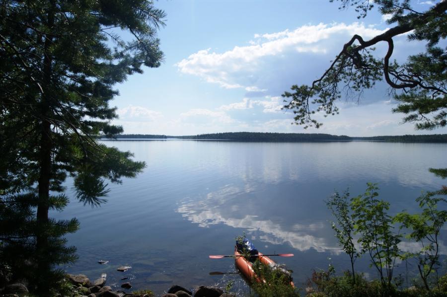 рыбалка в карелии на озере кереть