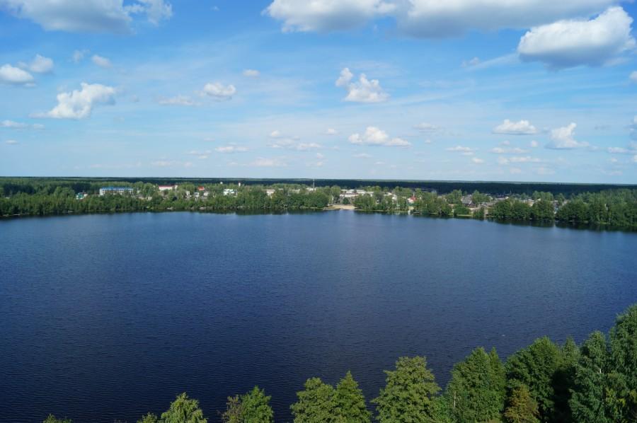 Озеро Кузьмияр. Поселок Кузьмияр