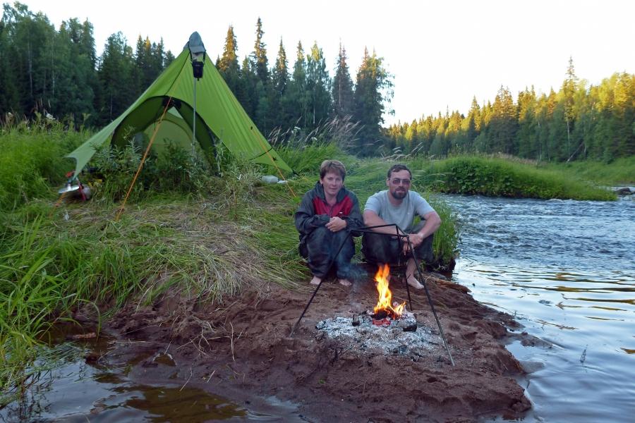 рыбалка лесной перекат
