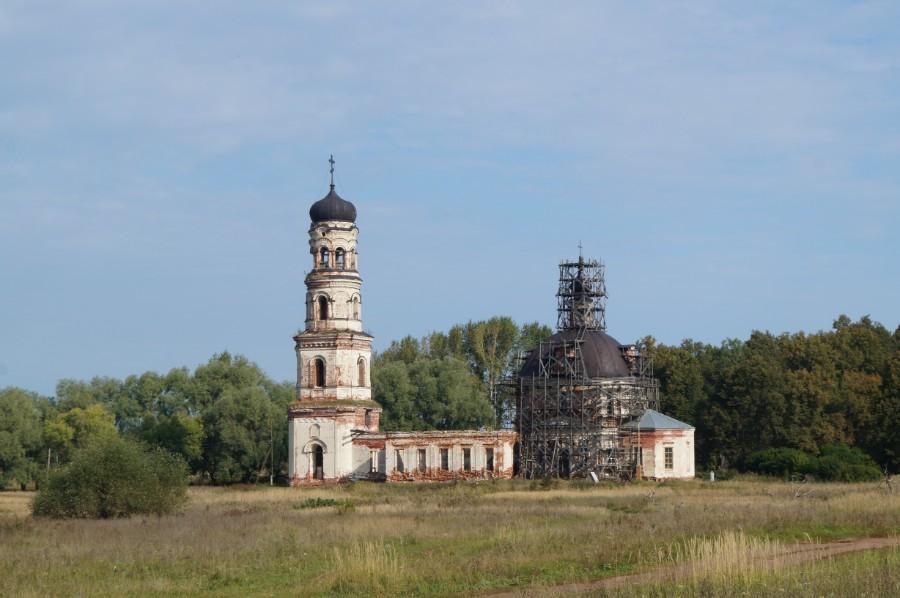 Илев, Церковь Спаса Нерукотворного образа