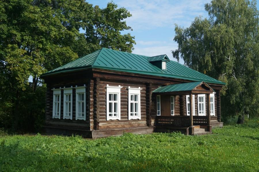 Церковно-приходская школа в усадьбе А.А. Пушкина во Львовке