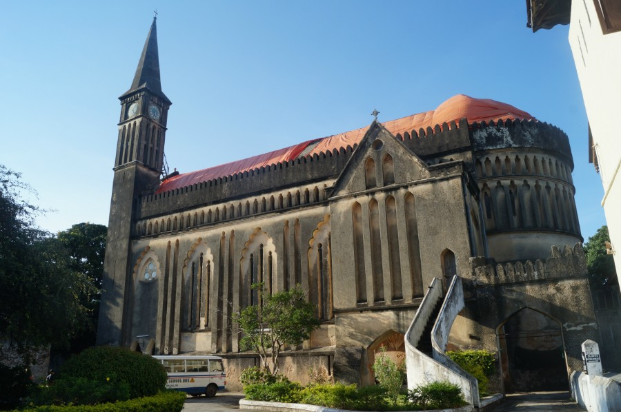 Англиканский собор в Стоун-Тауне Anglican Cathedral in Stone Town
