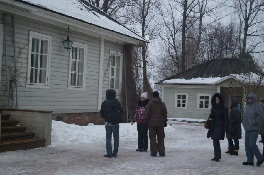 Дом музей А.С. Пушкина (родовой дом матери). Место его первой ссылки