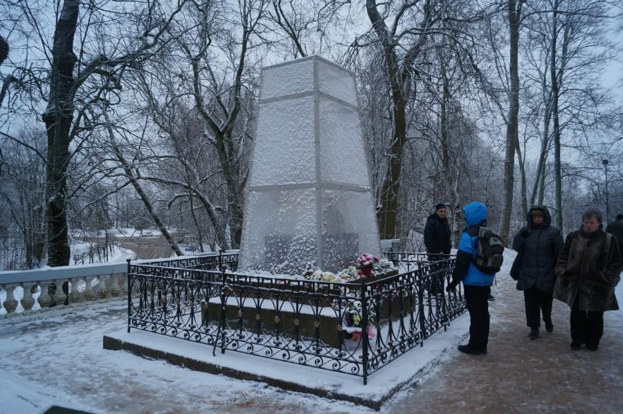 Могила А.С. Пушкина. Фото 2