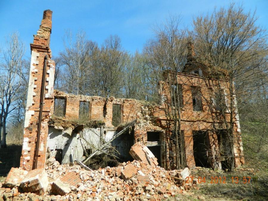 Развалины электростанции усадьбы графа Келлера