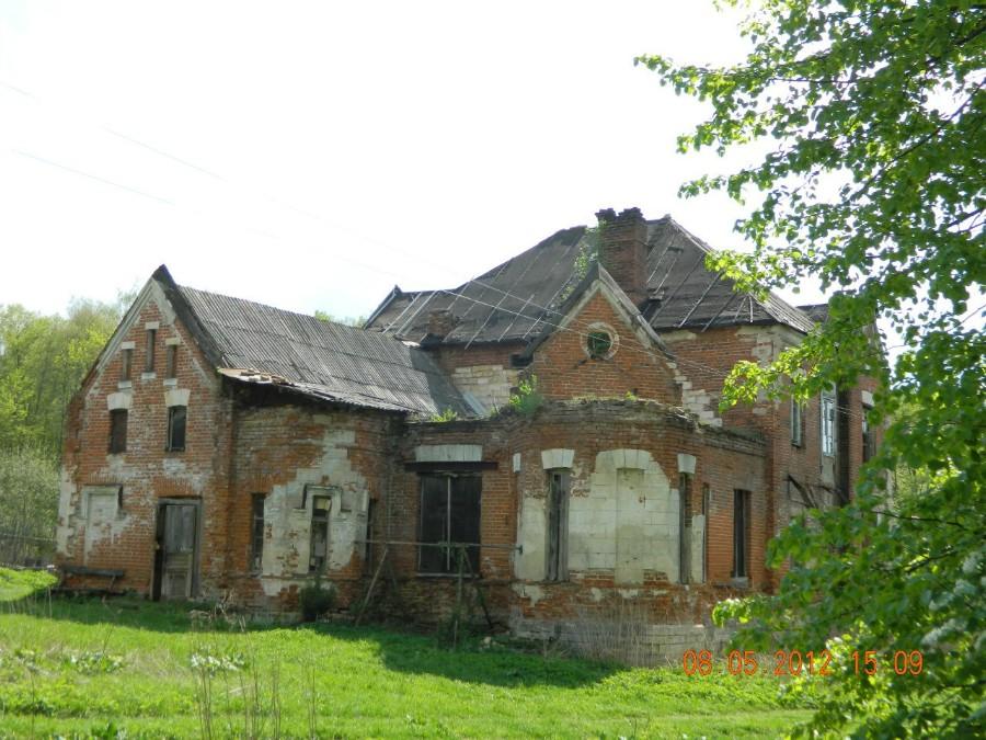 Гостевой дом усадьбы графа Келлера. Барский дом полностью разрушен