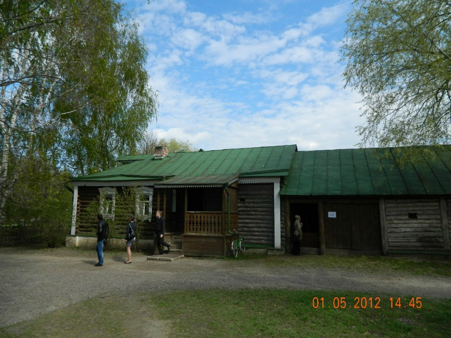 Дом родителей С. Есенина, в котором он родился
