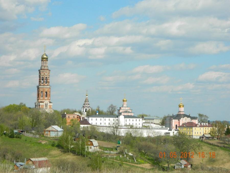 Иоанно-Богословский монастырь. Вид со смотровой площадки