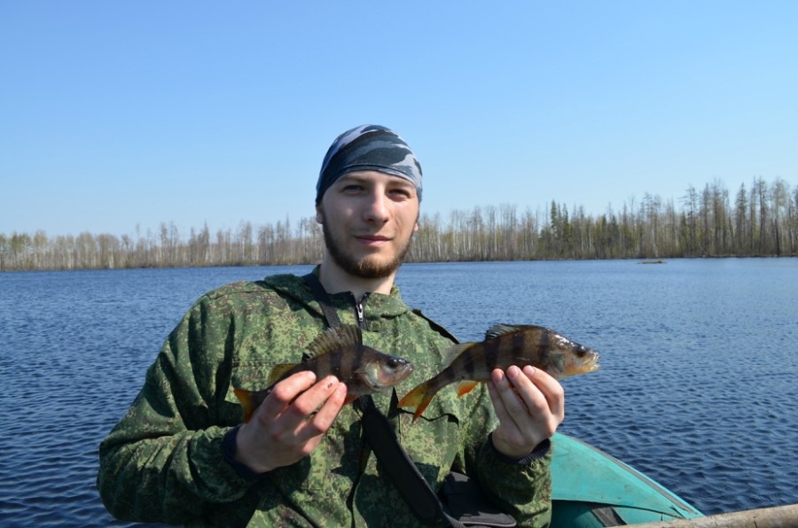 рыбалка на озере кривое