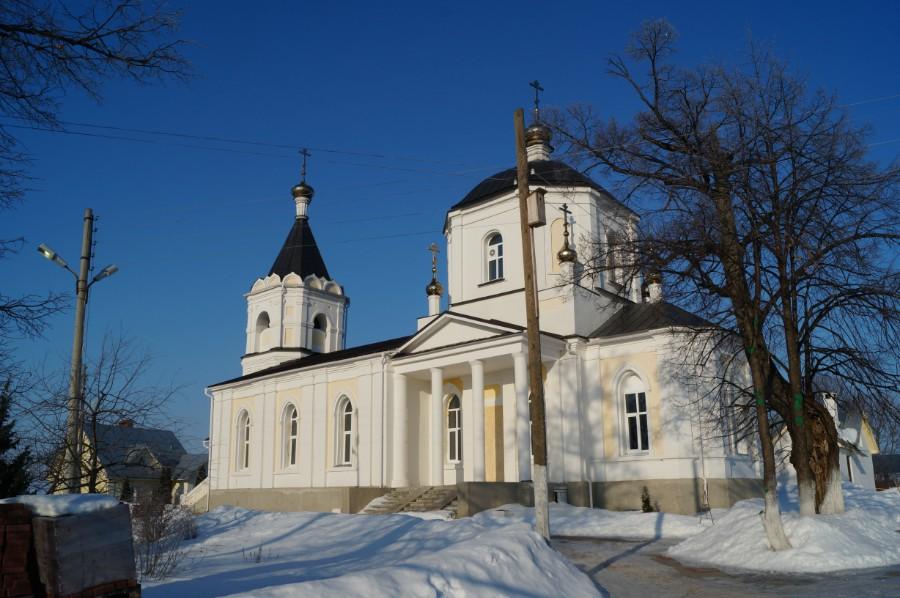 Покровский женский монастырь в Лукино