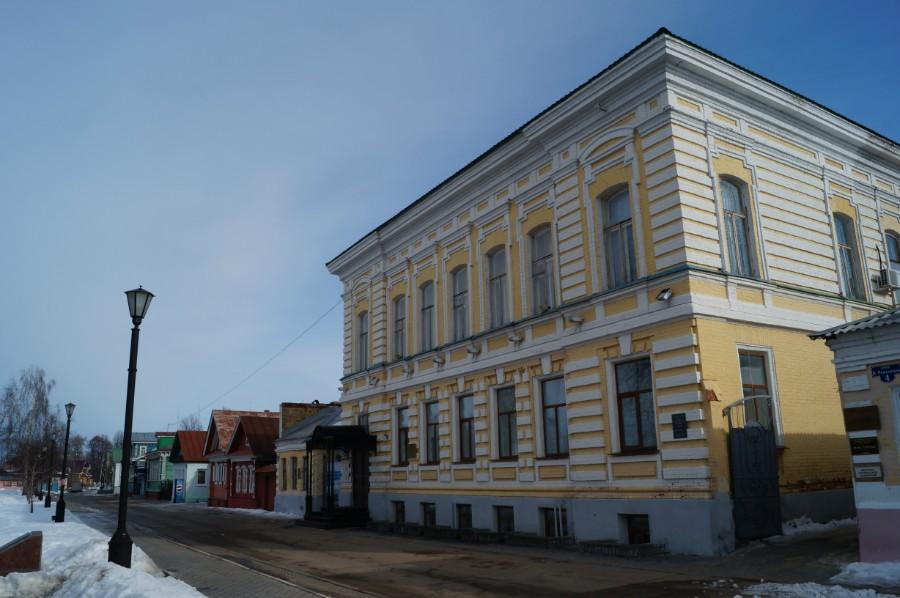 Дом усадьба купца - баржестроителя и судовладельца М.Н. Лапшина