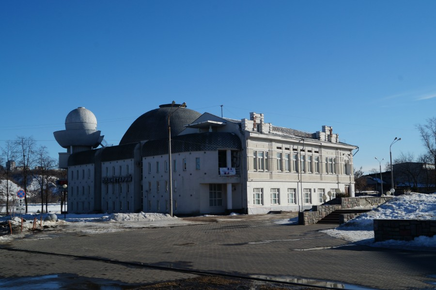 Доходный дом Кузнецова - переделан в здание Нижегородского планетария