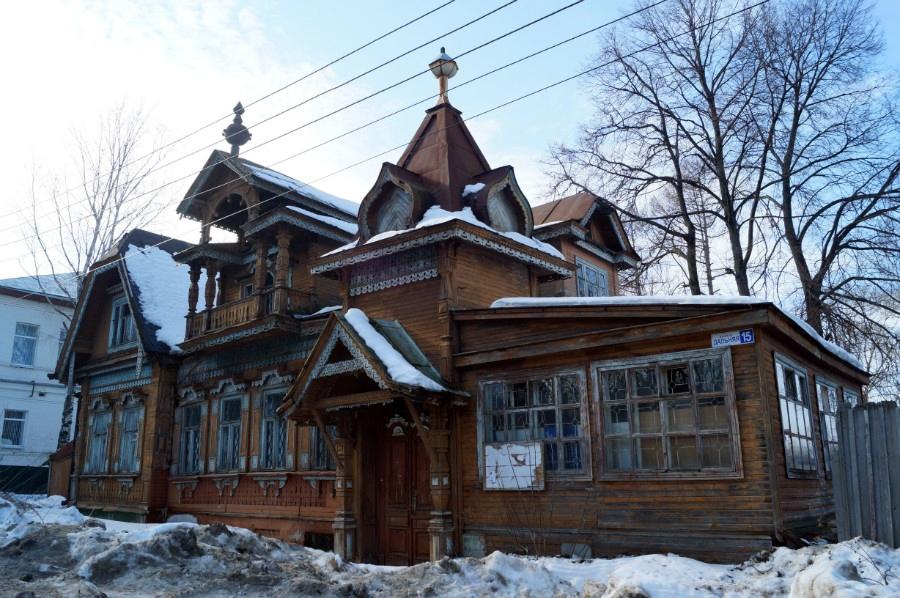 Дом усадьбы Смирнова на улице Дальняя фото 2