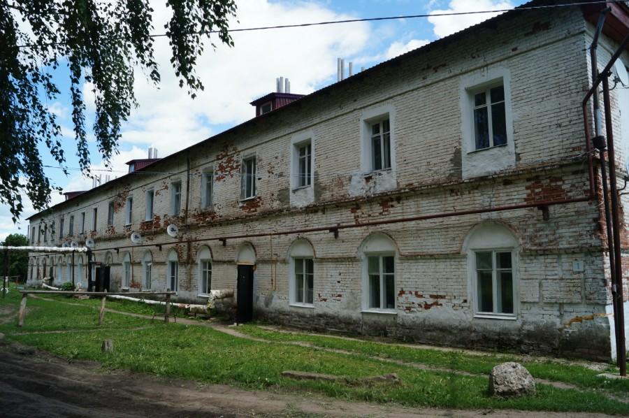 В усадьбе Пашковых в В. Талызино сейчас жилой дом