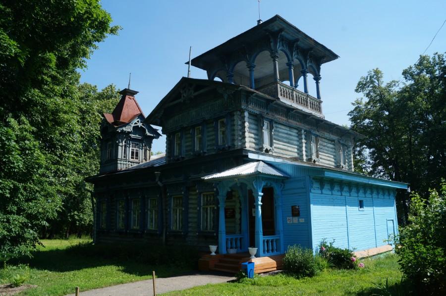 Усадьба лесопромышленника С.Н. Беляева в Воскресенском
