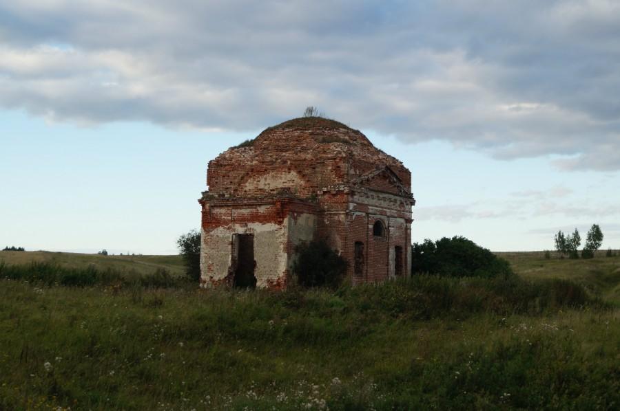 Федотово, с 1972 г. урочище. Церковь Всех Святых
