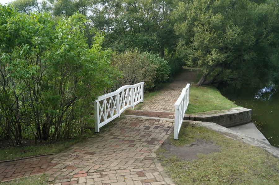 Еще одна плотина на нижних прудах
