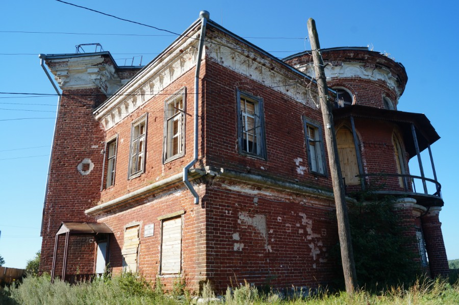 Охотничий домик Баташевых в селе Досчатое (Выксунский район)