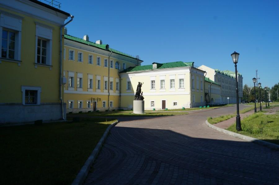 Усадьба Баташевых в Выксе (сейчас гостиница Баташев)
