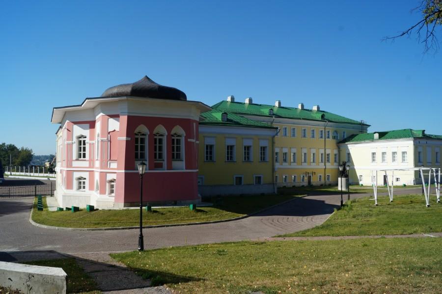 Здания гостиницы