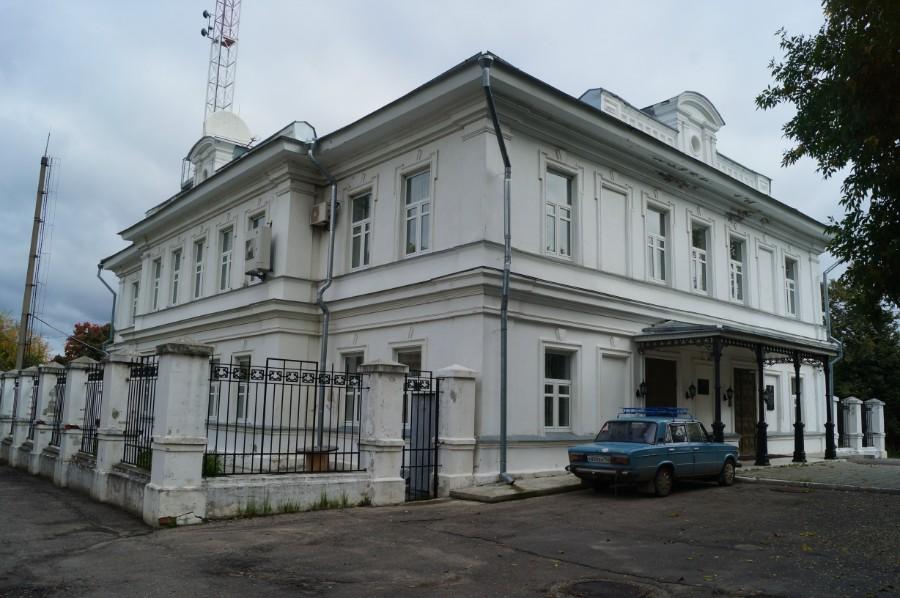 Главное здание усадьбы грузинских-Стоговых в Лысково