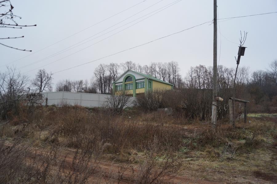Игнатово. Место бывшей усадьбы генерала Скалона.На вершине холма видны остатки липовой аллеи