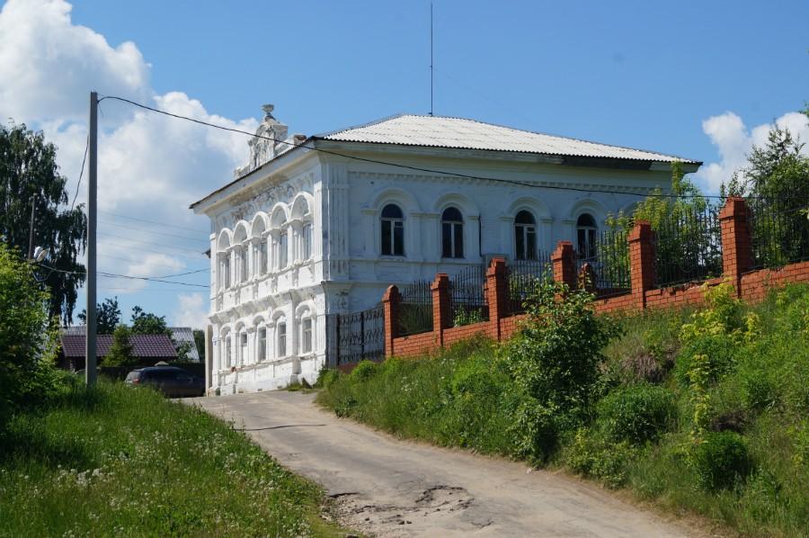Дом Рукавишниковых в Чкаловске - ныне здание архива