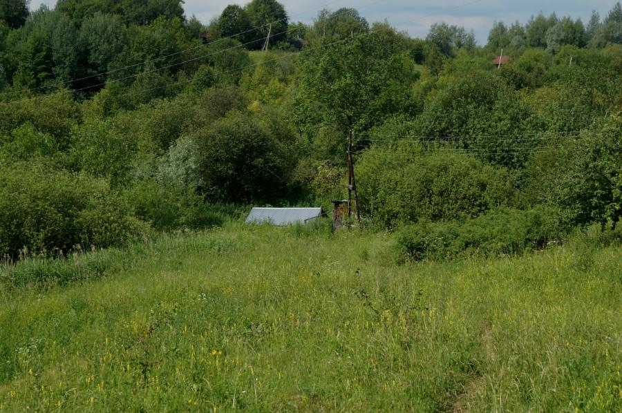 Заброшенный источник у села Тарталей