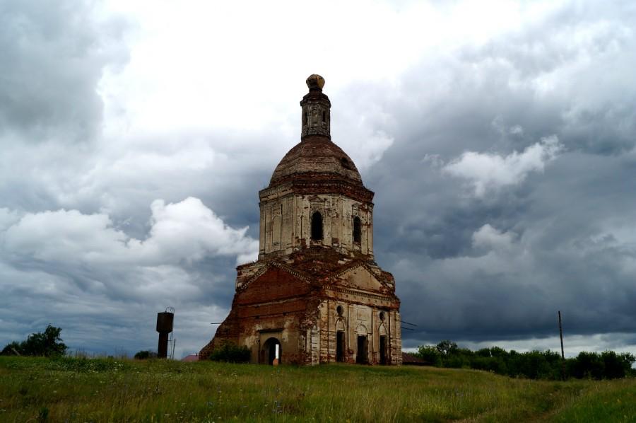 Церковь Спаса Преображения в селе Мечасово