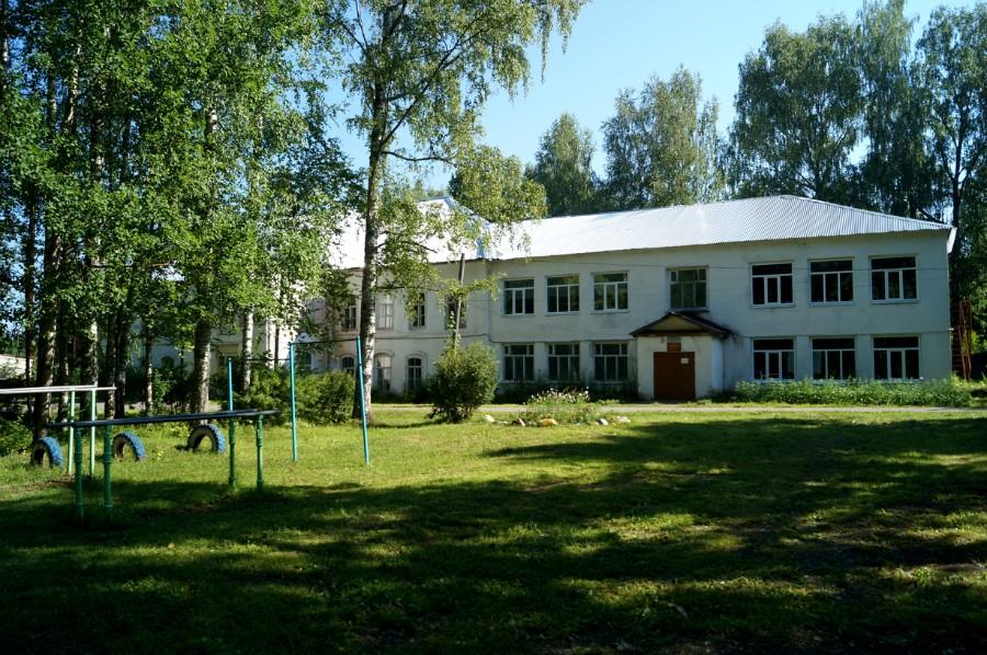 Усадьба Базилевского в Горках, ныне школа фото 2