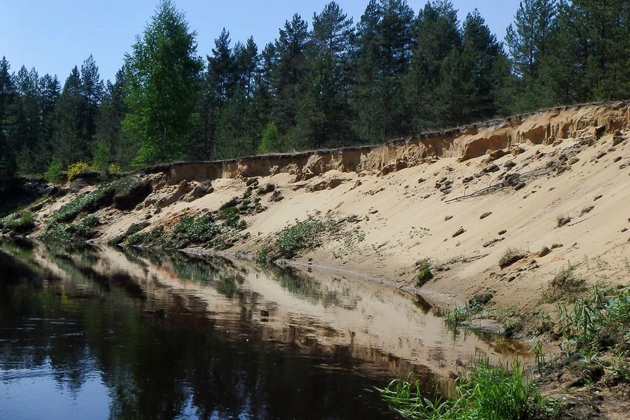 Песчаные кручи
