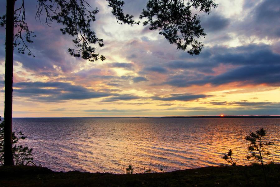 Закат над Горе-морем