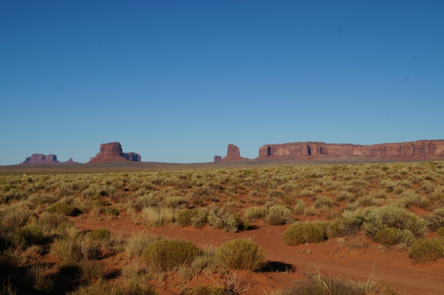 Вот и Долина Монументов (Monument valley)