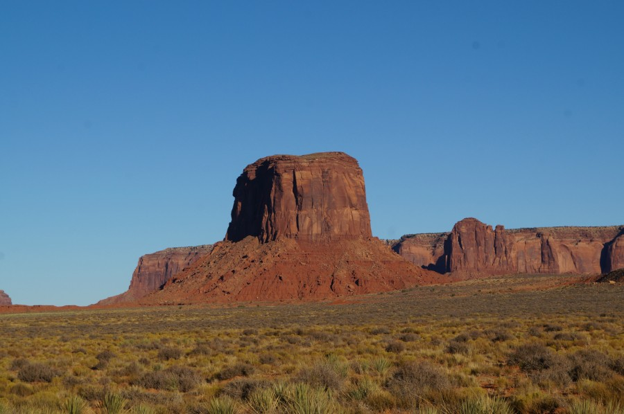 Долина Монументов (Monument valley)
