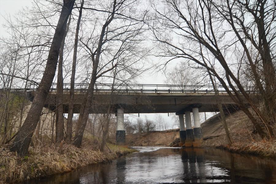 Автомобильный мост Заволжской трассы