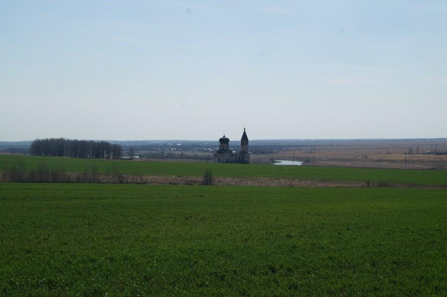 Вид на урочище Анненково по дороге к источнику Святые Колодцы