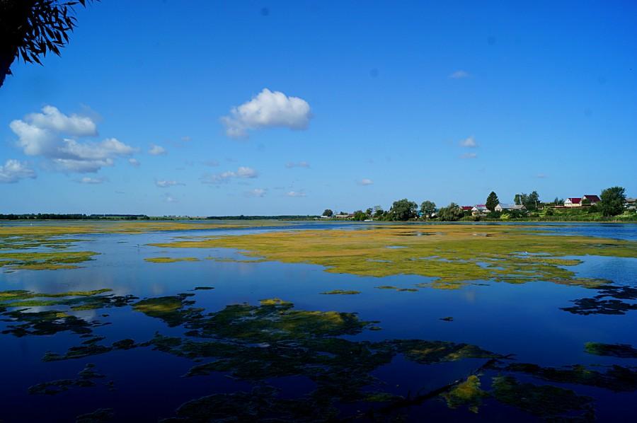 Озеро Вадское от плотины