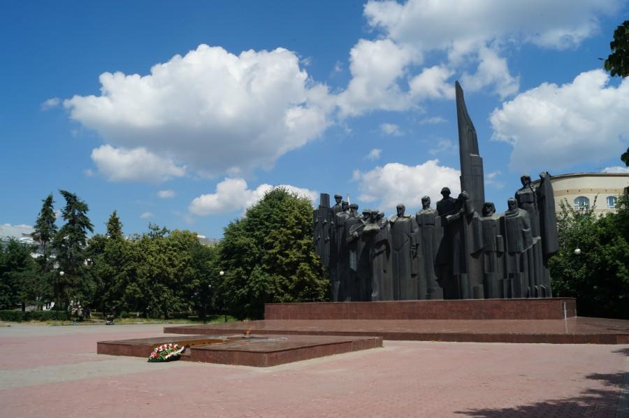 Четырнадцатидневное автомобильное путешествие по центральному и южному регионам европейской части России